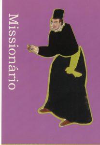 Imagem do Missionário tal como retratado nos biombos