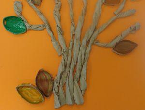 Árvore em papel