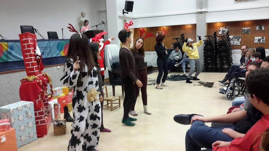 Sessão de teatro de Natal
