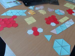 Actividade com formas geométricas