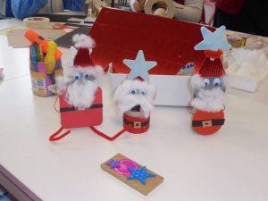 Pais-Natal construídos pelos alunos