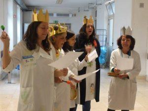 Professoras e educadoras cantam as Janeiras