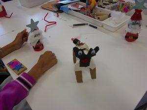 Rena e Pais-Natal construídos pelos alunos