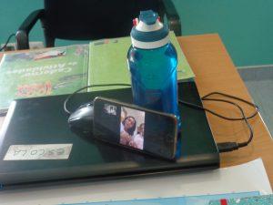 Teleaula por telemóvel