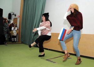 Educadoras/professoras em dança russa