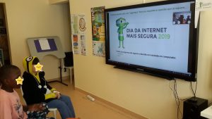 Videoconferência sobre o dia da Internet Mais Segura 2019