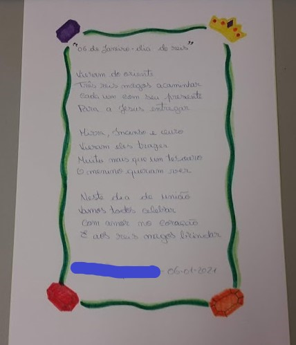 """Poema """"6 de Janerio - dia de Reis"""""""