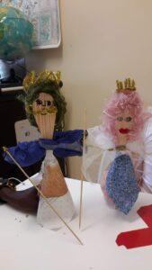 Marionetas de colher de pau